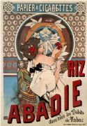 Vintage Cigarette Paper Advertising Poster